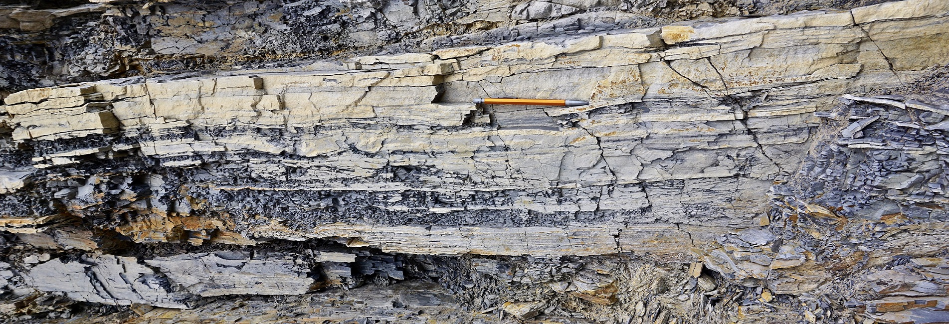 how to describe shale core